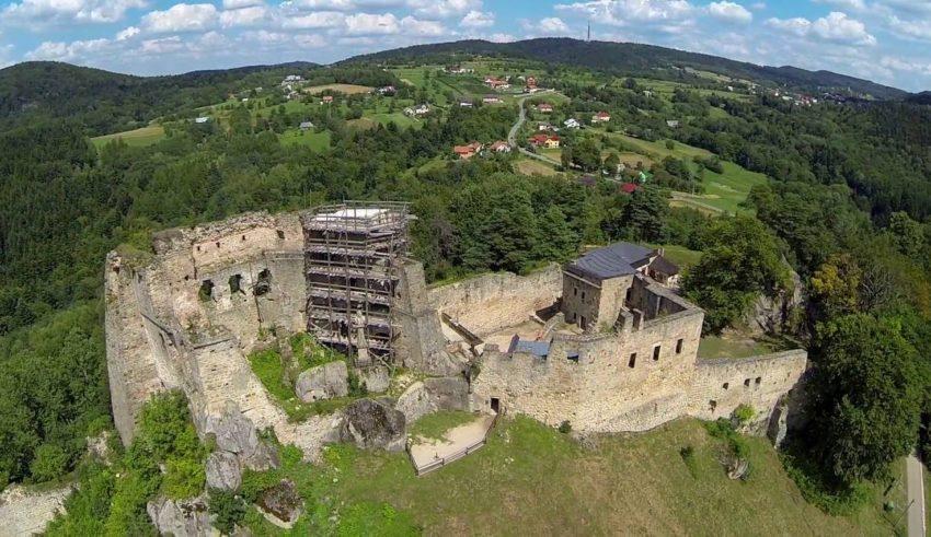 Historia zamku Kamieniec